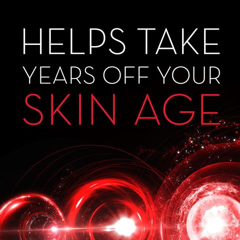 Helps take years off your skin age