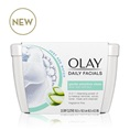 Olay Daily Sensitive Cleansing Cloths Tub w/ Aloe Extract